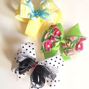 🎀 Multicolor Girl's Bows Bundle